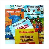 Box Monteiro Lobato 5 Volumes - Coleção Tatu Bola - Pé da letra