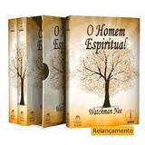 BOX O Homem Espiritual Vol. 01, 02 e 03 - Editora betânia