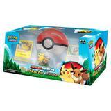 Box Pokémon: Poké Bola Pikachu e Eevee - Copag