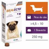 Bravecto Antipulgas E Carrapatos Para Cães De 4,5 A 10kg - Msd