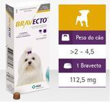 Bravecto - Cachorros 2 A 4,5 Kg MSD - Anti Pulgas - Msd - saude animal