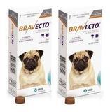 Bravecto Combo 2 Unid 250 Mg Comprimido Cães 4,5 A 10 Kg - Msd