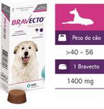 Bravecto Comprimido Para Cães De 40 A 56kg - Original