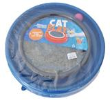 Brinquedo Arranhador Estimulador Gato C/ Bolinha - Cat Play - Pet grow