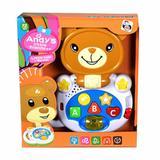 Brinquedo Para Bebe Piano Infantil Com Som Luz +06M Cachorro - Pica pau