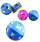 Brinquedo para gato bola com guizo 9,5cm de ø - Western pet