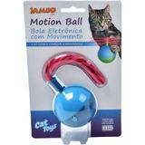 Brinquedo Para Gato Bola Motion Cat Ball Azul Jambo