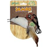 Brinquedo para Gatos Rato Natural com Catnip - Jambo