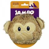 Brinquedos Para Cachorro Pelúcia Emoji Macaco Pequeno - Jambo