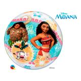 Bubble 22 polegadas - moana da disney - moana - qualatex