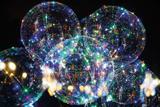 Bubble LED a Pilha 45CM. - Mundo bizarro