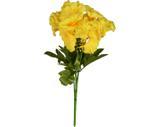 Buquê Artificial Beijo Pintado Amarelo 30 cm - Kasa  cia