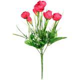 Buquê Artificial Camélia Pink 32 cm - Kasacia