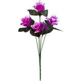 Buquê Artificial Câmpanula Lilás 35 cm - Kasacia