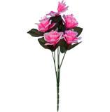 Buquê Artificial Câmpanula Rosa 35 cm - Kasacia