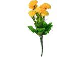 Buquê Artificial Cravo Amarelo 33 cm - Kasacia