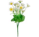 Buquê Artificial Crisantemo Creme 32 cm - Kasacia
