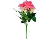 Buquê Artificial Crisantemo Rosa 35 cm - Kasa  cia