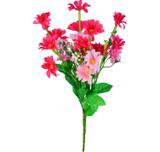 Buquê Artificial Crisantemo Rosa Beauty 36 cm - Kasacia