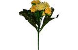 Buquê Artificial Rosa Amarela 28 cm - Kasa  cia