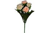 Buquê Artificial Rosa Creme 28 cm - Kasacia