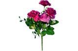 Buquê Artificial Rosa Lilás 35 cm - Kasacia