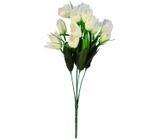 Buquê Artificial Tulipa Creme 35 cm - Kasacia