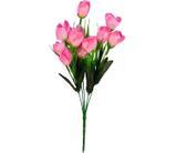 Buquê Artificial Tulipa Rosa 35 cm - Kasacia