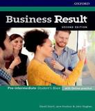 Business Result - Pre-intermediate - Student Book With Online Practice Pack - 02 Ed - Oxford