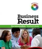 Business Result - Pre-intermediate - Teachers Book Dvd Pack - Oxford