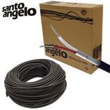 Cabo Para Microfone Santo Angelo X30 Balanceado 50 Metros - Santo ângelo