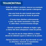 Caçarola Allegra Rasa n22 3.3L em aço Inox - TRAMONTINA - Byhouse