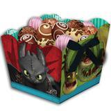 Cachepot Como Treinar seu Dragão 08 unidades Festcolor - Festabox