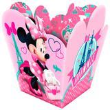 Cachepot Minnie Rosa 08 unidades - Festabox