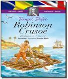 Cad- classicos bilingues - robinson crusoe - Ciranda cultural