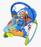 Cadeira cadeirinha descanso musical com balanço azul rocker - Color baby
