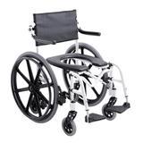 Cadeira de Banho Higiênica Alumínio com Rodas Grandes H1 Ortobras