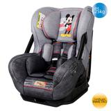 Cadeira de Carro 0, I, II (25kg) Eris Mickey Mouse - Grey - Disney