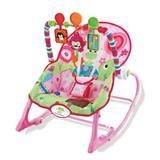 Cadeira de Descanço Vibratória até 18 Kilos - Rosa - Star Baby