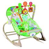 Cadeira de Descanço Vibratória até 18 Kilos - Verde Floresta - Star Baby