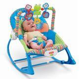 Cadeira de Descanso e Balanço com Vibratória e Musical Meninos 18kg Fisher-Price - Fisher price