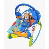 Cadeira de Descanso New Rocker Vibratória Musical - Azul - Color baby