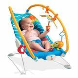 Cadeira de Descanso para Bebe Gymini Bouncer Fundo do Mar Tiny Love Azul
