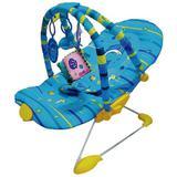 Cadeira De Descanso Vibratória Balágio - Color Baby - Azul