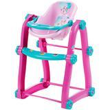 Cadeira De Refeição Biemme Carinha De Anjo Rosa