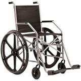 Cadeira De Rodas 1009 RN Com Pneu Maciço Em Nylon - Jaguaribe