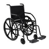 Cadeira de rodas 101 nylon preta cds