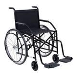 Cadeira de rodas 101M semi-obeso preta cds
