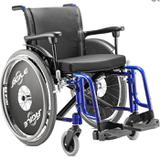 Cadeira de Rodas Agile 44cm Jaguaribe - Ortopedia jaguaribe