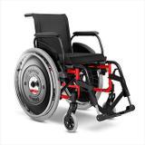 Cadeira de Rodas Alumínio AVD Ortobras Dobrável em X f00000 42cm